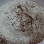 flour and cocco powder!