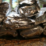 wrapped and ready to toss in the freezer!