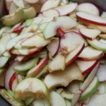 Seasoned apples
